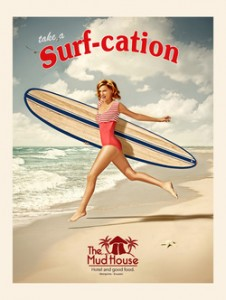 Surf in Mompiche - The Mudhouse Hostel