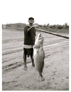 Pueblo de pescadores en Ecuador